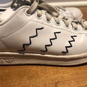 Adidas Stan Smith Navy + White Stan Smith Sneakers